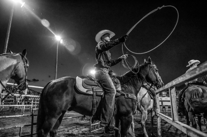 Scenes from the first day of the 45th Annual Corn Palace Stampede Rodeo at Horseman's Sports Arena on Thursday in Mitchell. (Matt Gade/Republic)