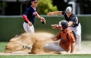 Scenes from the Parkston vs. Vermillion Grey Sox game in the first round of the Class B state amateur baseball tournament on Thursday at Cadwell Park in Mitchell.