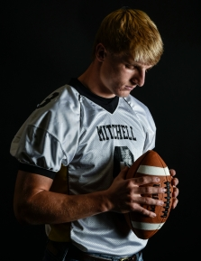 Mitchell High School standout Spencer Neugebauer has been named the Daily Republic's Player of the Year. (Matt Gade/Republic)